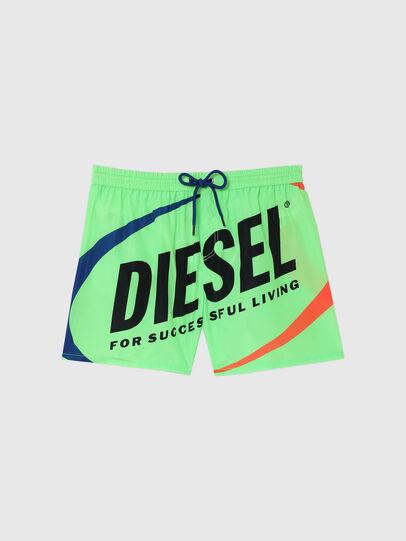 Diesel - BMBX-WAVE 2.017, Verde - Boxer da bagno - Image 4