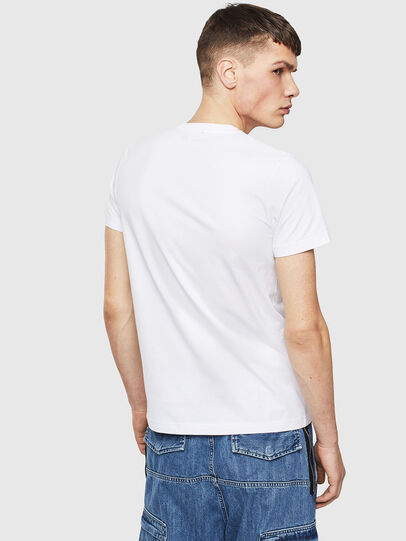 Diesel - T-WORKY-S1, Bianco - T-Shirts - Image 2