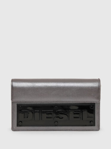 Portafoglio - mini borsa con applicazione 3D