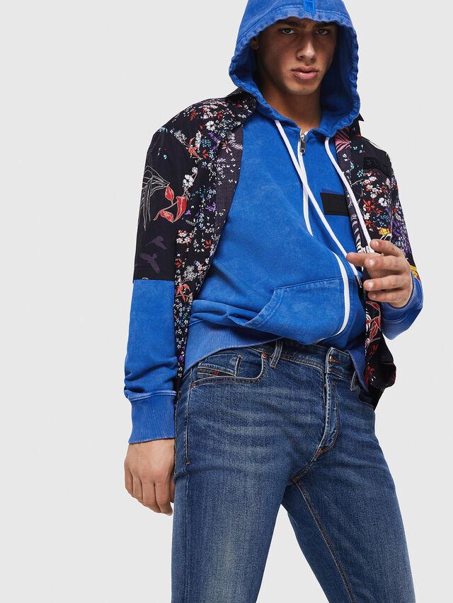 Diesel - Sleenker 069AJ, Blu medio - Jeans - Image 5