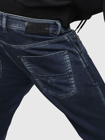 Diesel - Krooley JoggJeans 069HY, Blu Scuro - Jeans - Image 5