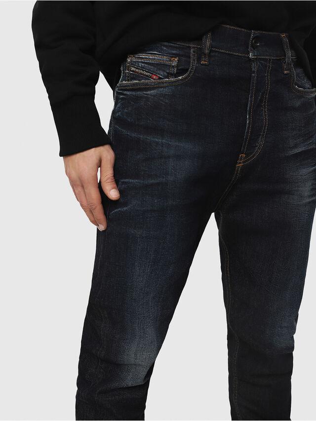 Diesel - D-Vider 081AT, Blu Scuro - Jeans - Image 3