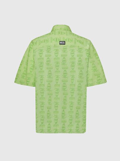 Diesel - S-ROHAD-C, Verde - Camicie - Image 2