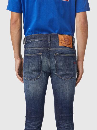 Diesel - D-Amny 09A85, Blu Scuro - Jeans - Image 4