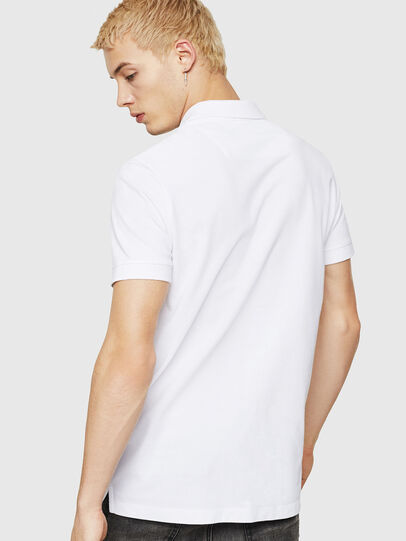 Diesel - T-WEET-DIV, Bianco - Polo - Image 2