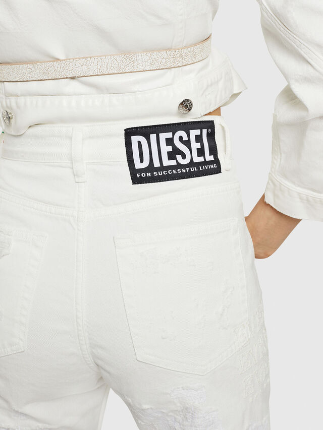 Diesel - D-Eiselle 069IJ, Bianco - Jeans - Image 5