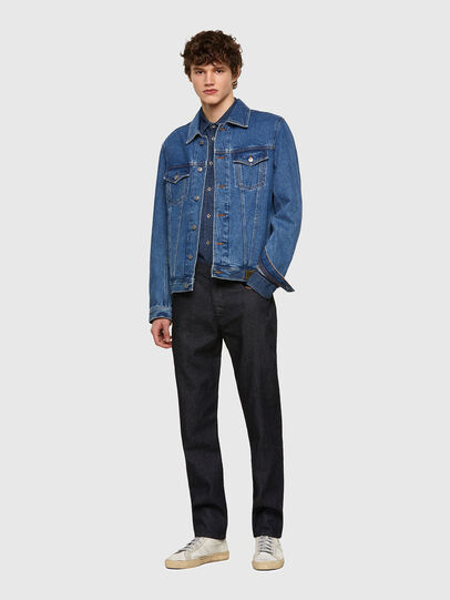 Diesel - D-Fining-Chino 009HF, Blu Scuro - Jeans - Image 5