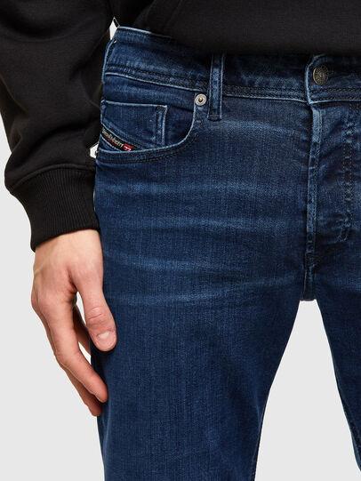 Diesel - Sleenker 009QI, Blu Scuro - Jeans - Image 3
