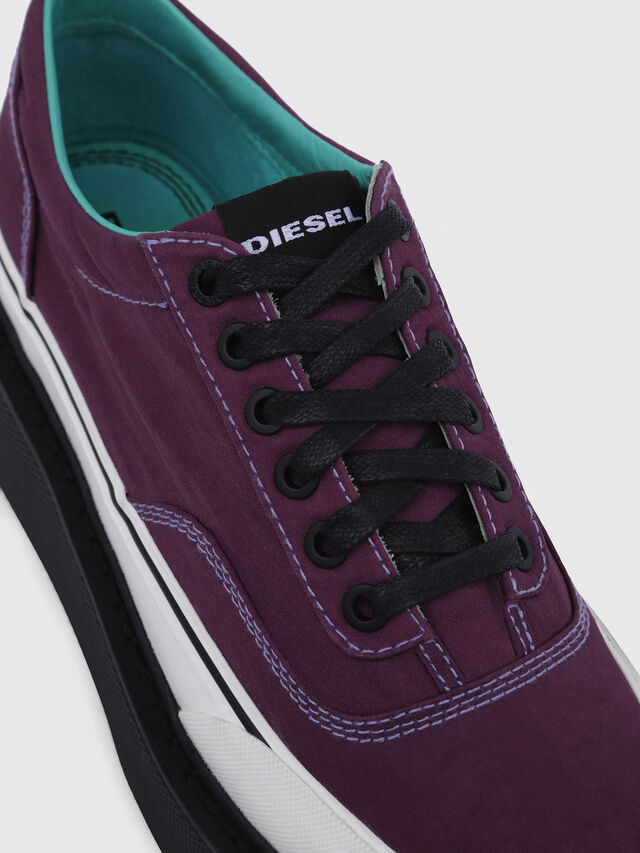 Diesel - H-SCIROCCO LOW, Viola Scuro - Sneakers - Image 5