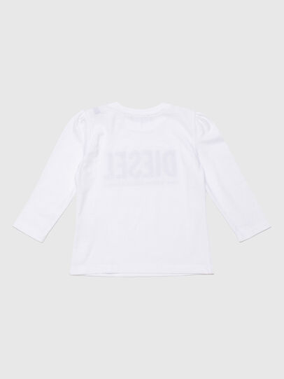 Diesel - TRASSYB, Bianco - T-shirts e Tops - Image 2