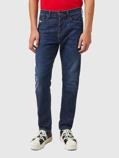 Diesel - D-Fining 009ZU, Blu Scuro - Jeans - Image 1
