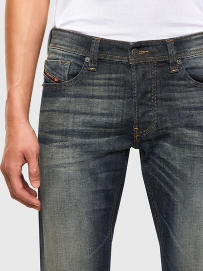 Diesel - Larkee 009EP, Blu Scuro - Jeans - Image 4