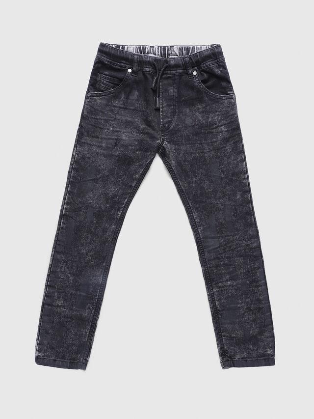Diesel - KROOLEY-J JOGGJEANS, Nero/Grigio - Jeans - Image 1