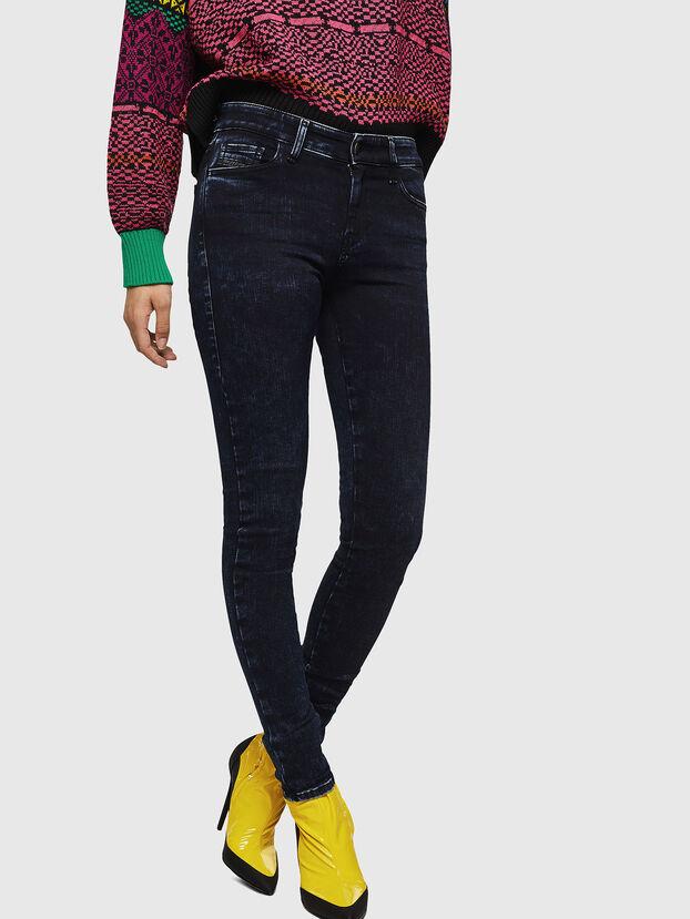Slandy 082AU, Blu Scuro - Jeans