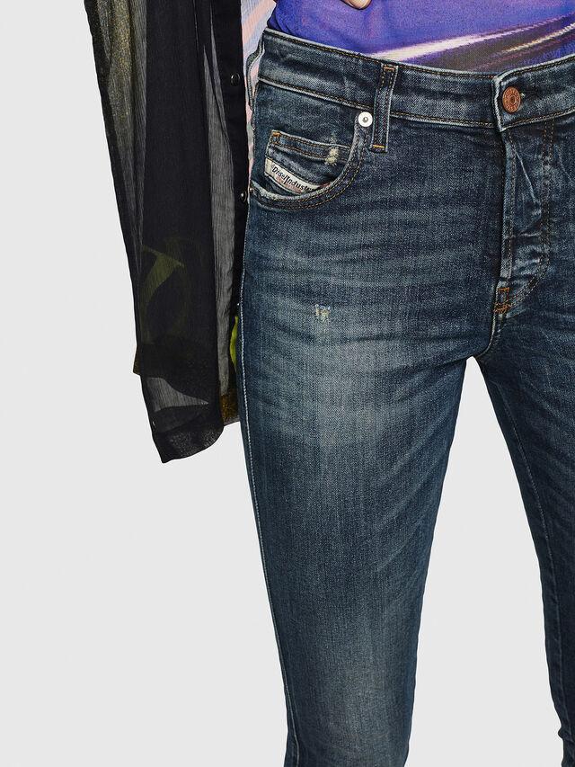 Diesel - Babhila 069GC, Blu Scuro - Jeans - Image 3