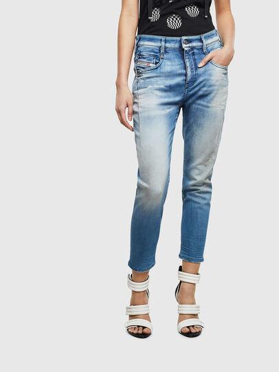 Diesel - Fayza JoggJeans 0099Q, Blu medio - Jeans - Image 1