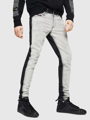 Sleenker 082AX, Nero/Grigio scuro - Jeans