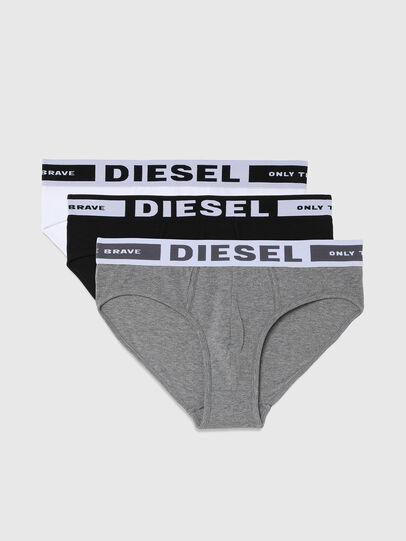 Diesel - UMBR-ANDRETHREEPACK, Nero/Grigio - Slip - Image 1