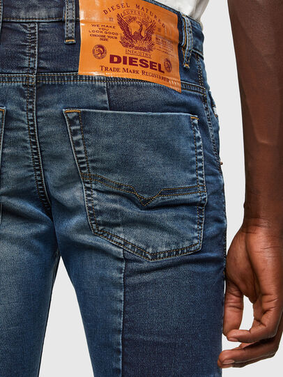 Diesel - Krooley JoggJeans® 069TX, Blu medio - Jeans - Image 5