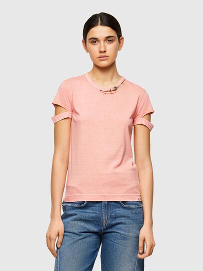 Diesel - T-BULLOCK-A1, Rosa - T-Shirts - Image 1