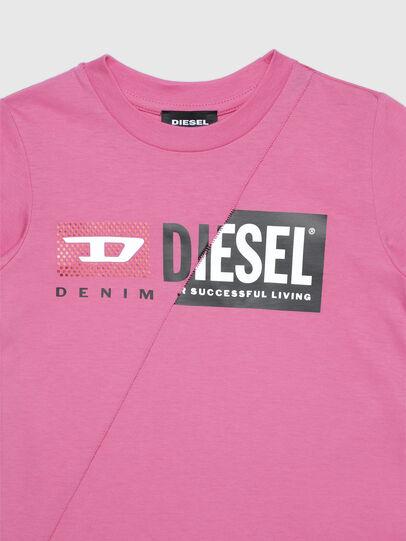 Diesel - TDIEGOCUTYB-FL ML-R, Rosa - T-shirts e Tops - Image 3