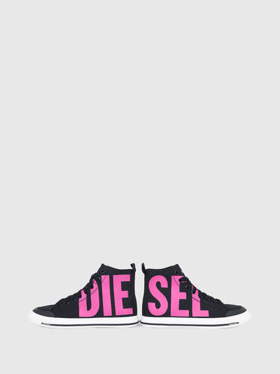 Diesel - S-ASTICO MID CUT W, Nero/Rosa - Sneakers - Image 4