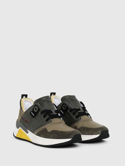 Diesel - S-BRENTHA LC, Verde Militare - Sneakers - Image 2