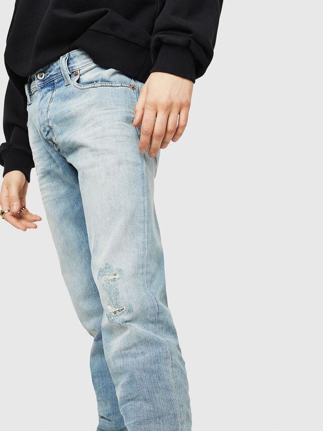 Diesel - Larkee-Beex 087AX, Blu Chiaro - Jeans - Image 3