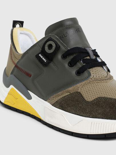 Diesel - S-BRENTHA LC, Verde Militare - Sneakers - Image 5