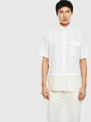 S-GIBBS, Bianco - Camicie