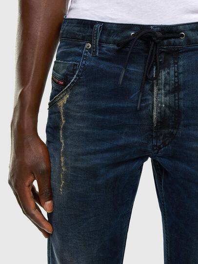 Diesel - Krooley JoggJeans 069NP, Blu Scuro - Jeans - Image 3