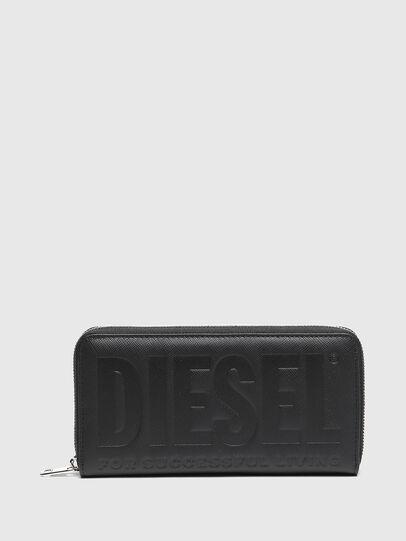 Diesel - 24 ZIP, Nero - Portafogli Con Zip - Image 1