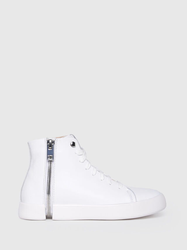 Diesel - S-NENTISH MC W, Bianco - Sneakers - Image 1