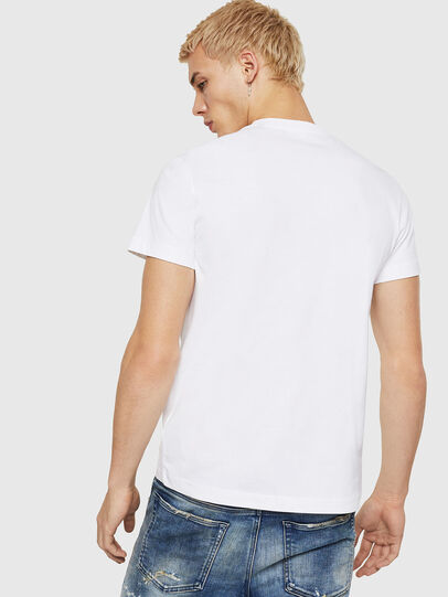 Diesel - T-DIEGO-A7, Bianco - T-Shirts - Image 2