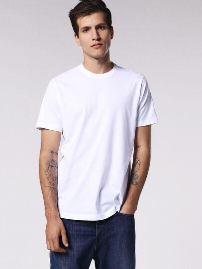 Diesel - T-DANIEL, Bianco - T-Shirts - Image 1