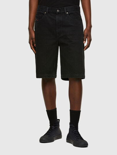 Diesel - D-MACS-SHORT, Nero - Shorts - Image 1