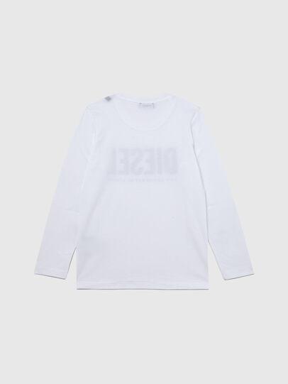 Diesel - TSILYWX ML, Bianco - T-shirts e Tops - Image 2
