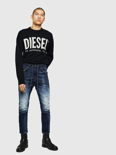 Diesel - D-Vider JoggJeans 069KD, Blu Scuro - Jeans - Image 5