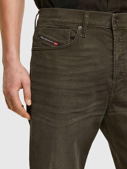 Diesel - D-Fining 0699P, Verde Militare - Jeans - Image 3