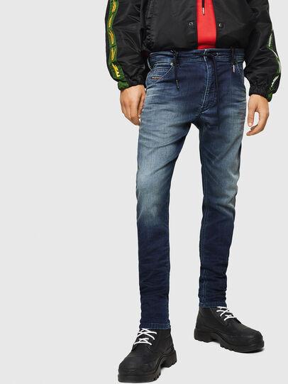 Diesel - Krooley JoggJeans 069HH, Blu Scuro - Jeans - Image 1