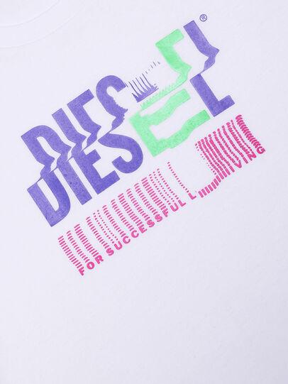 Diesel - TSILYKLIV, Bianco - T-shirts e Tops - Image 3