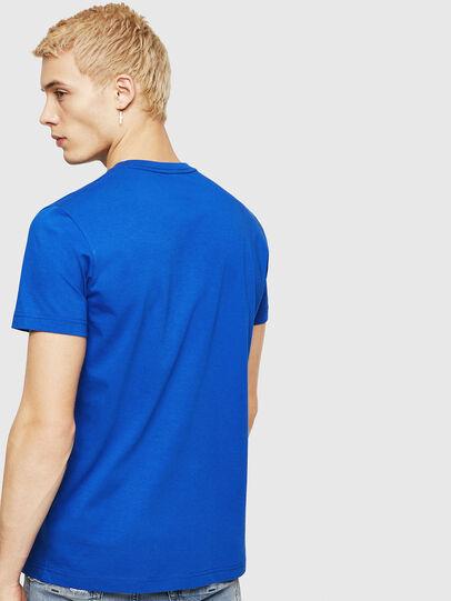 Diesel - T-DIEGO-DIV, Blu Brillante - T-Shirts - Image 2