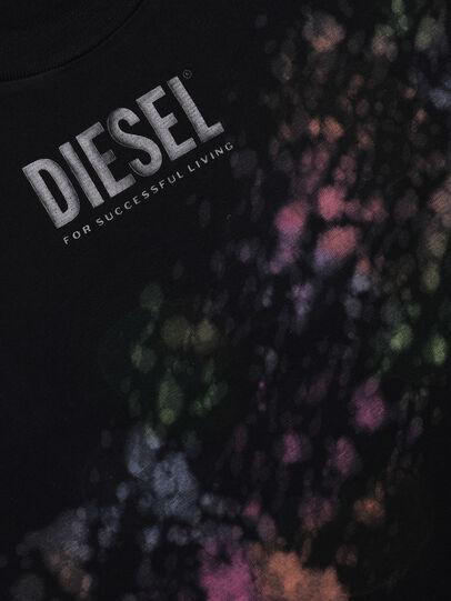 Diesel - TJUSTA40 OVER, Nero - T-shirts e Tops - Image 3