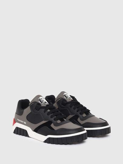 Diesel - S-RUA LOW SK, Grigio - Sneakers - Image 2