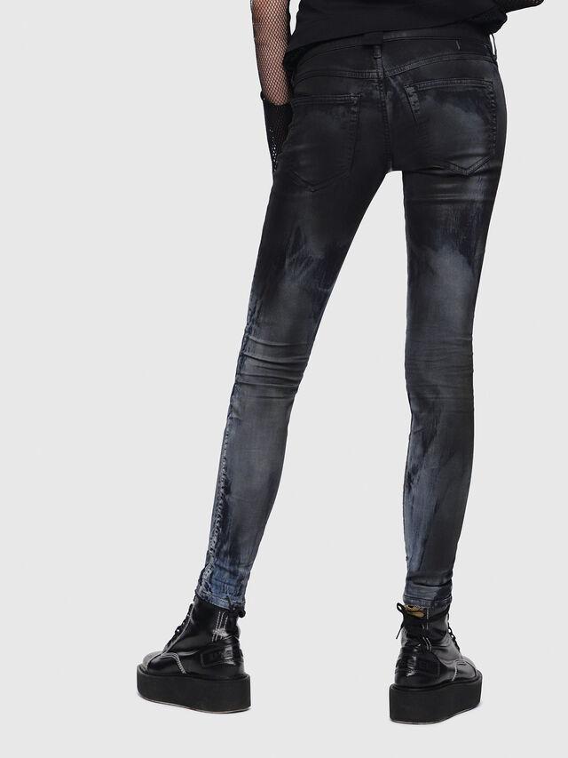 Diesel - Gracey JoggJeans 086AZ, Nero/Grigio scuro - Jeans - Image 2