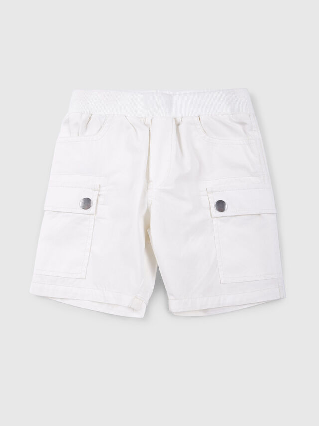 Diesel - PECCIB, Bianco - Shorts - Image 1