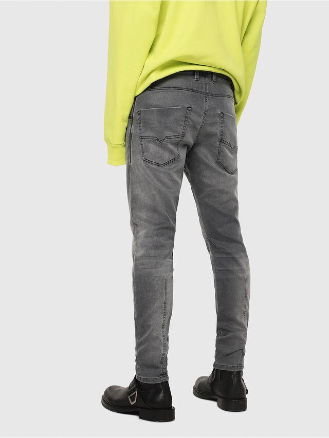 Diesel - Krooley JoggJeans 069EH, Nero/Grigio scuro - Jeans - Image 2