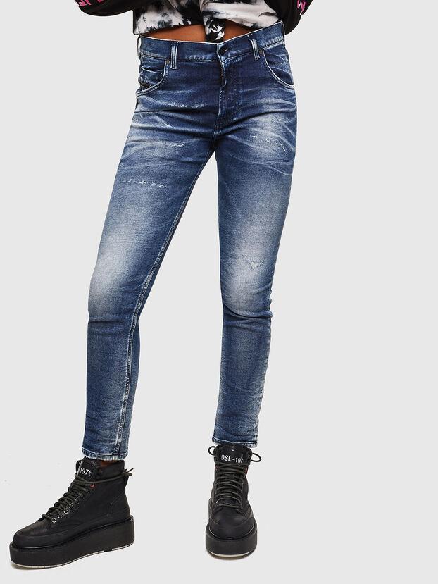 Krailey JoggJeans 0096M, Blu Scuro - Jeans