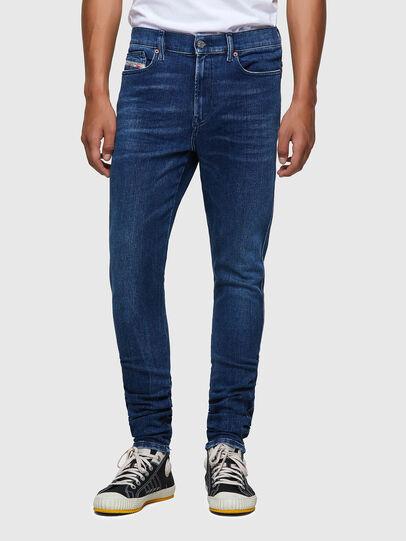 Diesel - D-Istort 009ZX, Blu Scuro - Jeans - Image 1