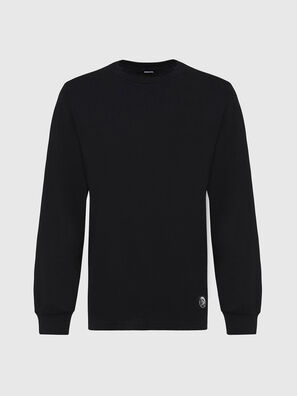 T-JUST-LS-MOHI, Nero - T-Shirts